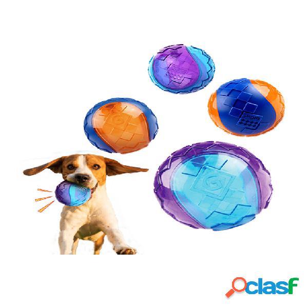 Palla giocattolo da masticare per cani Palla gonfiabile per