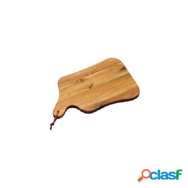 Tagliere Rettangolare Con Manico In Legno Di Acacia Cm