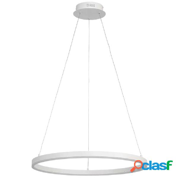 Wofi Lampada a Sospensione a LED Vaasa 60x150 cm Bianco
