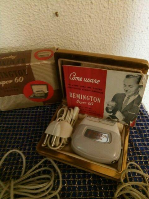 Antico rasoio elettrico REMINGTON SUPER 60