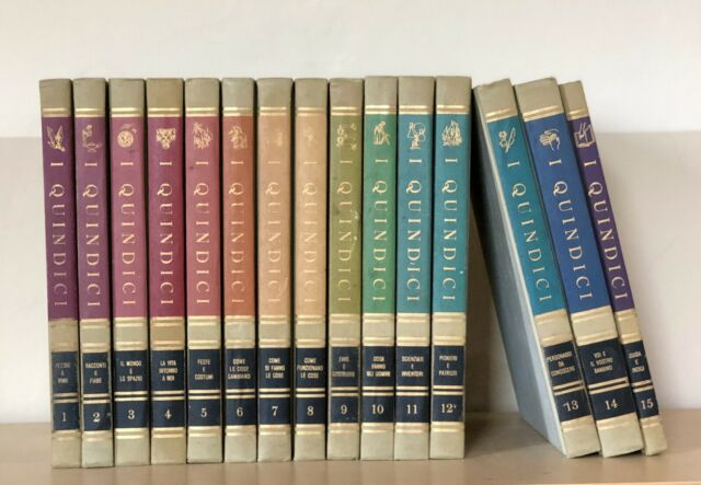 I Quindici Enciclopedia completa (15 Vol.) 1a Edizione