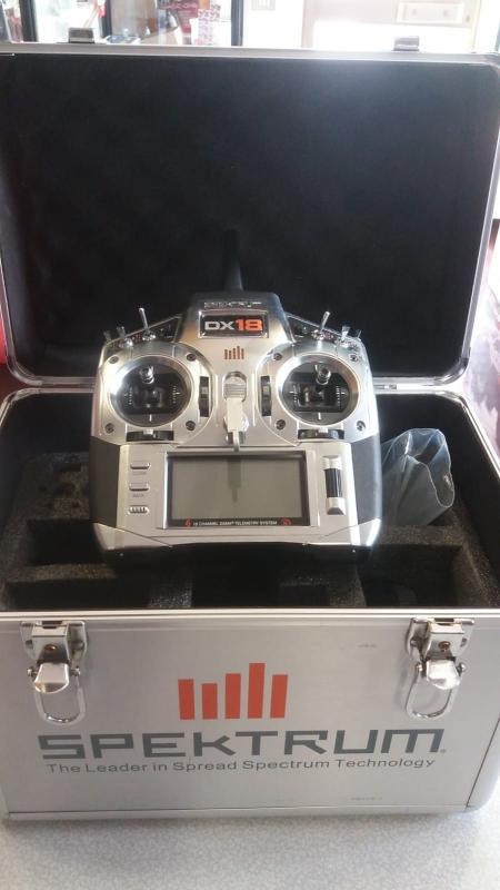 Radiocomando Spektrum DX 18
