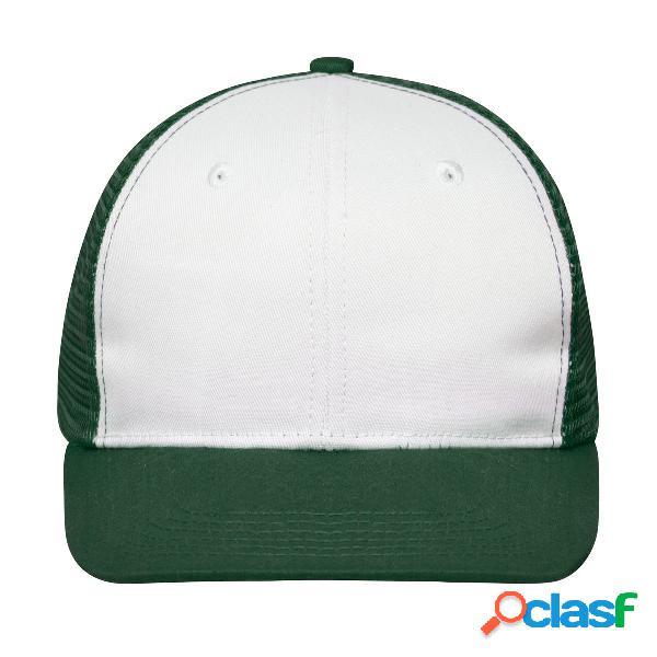 6 PANEL FLAT PEAK CAP65%P 35%C