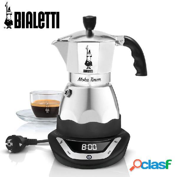 Bialetti Easy Timer 6 Tazze Caffettiera Elettrica