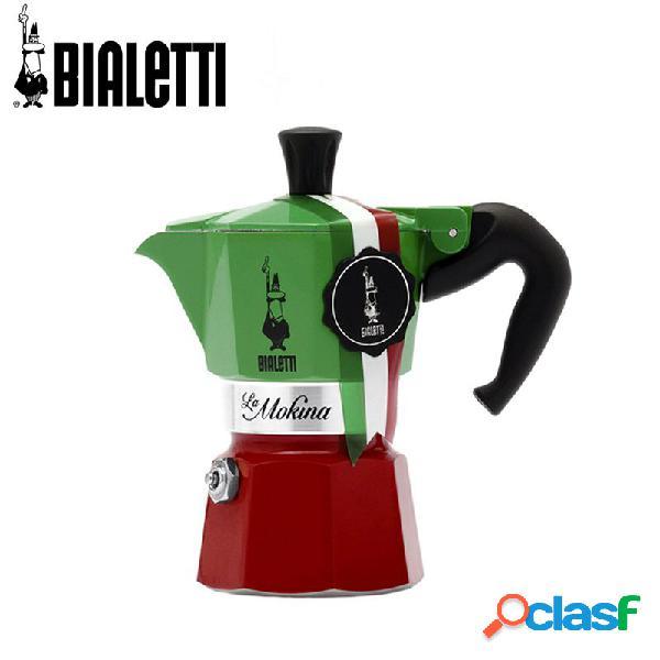 Bialetti Expo La Mokina Tricolore 40 Cc Caffettiera Moka