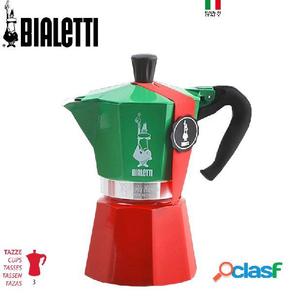 Bialetti Tricolore Moka Express Caffettiera Moka 3tz