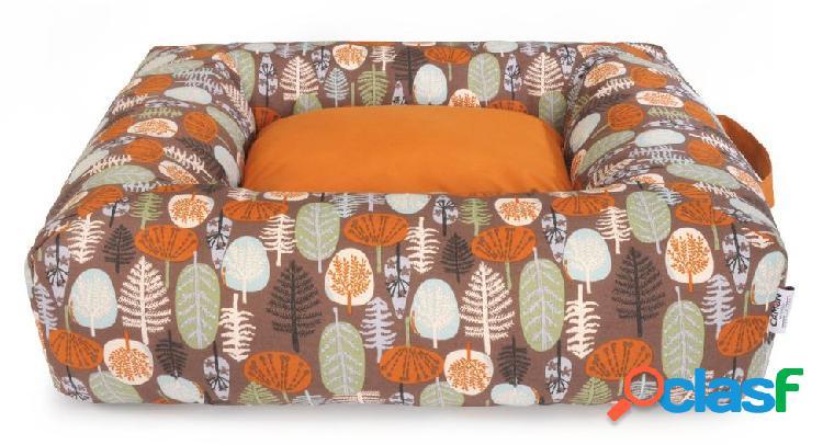 Camon cuccia rettangolare fantasy forest cm 80 x70 x h20