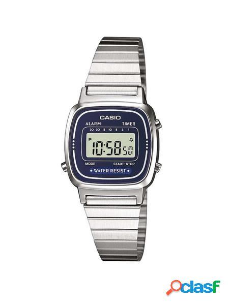 Casio orologio Unisex digitale blue mod. LA670WA-2DF