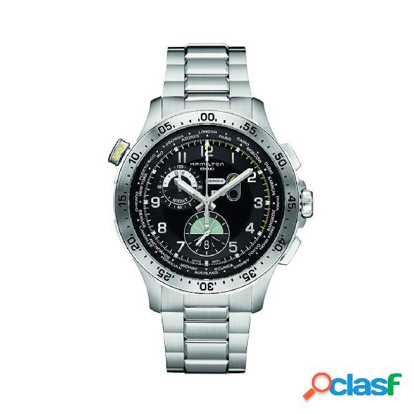 Hamilton orologio uomo cronografo collezione Khaki Aviation