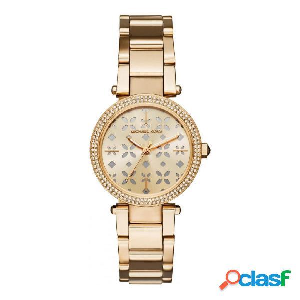 Michael Kors Mini Parker orologio donna tonalità oro mod.