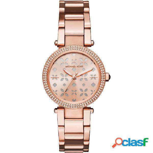 Michael Kors Mini Parker orologio donna tonalità oro rosa