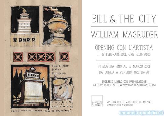 Mostra BILL & THE CITY - William Magruder @ Manifiesto