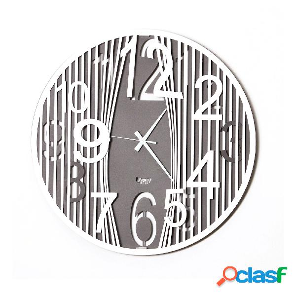 Orologio da parete dal design moderno Evasion in metallo,