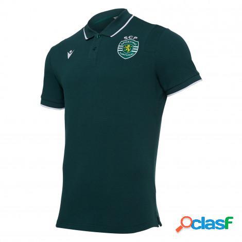 Polo in cotone piquet Sporting Club de Portugal 2020/21