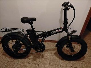 Bicicletta elettrica om bike 500w 48v pieghevole