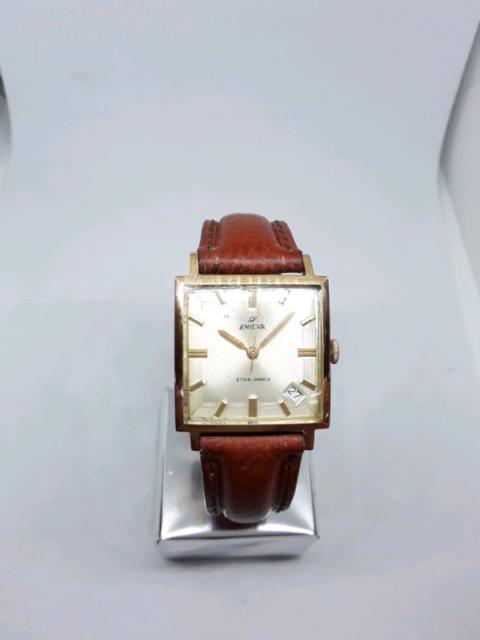 Enicar vintage watch 18k gold