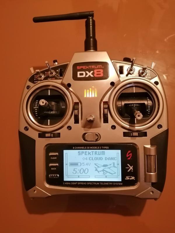 Vendo SPEKTRUM DX 8