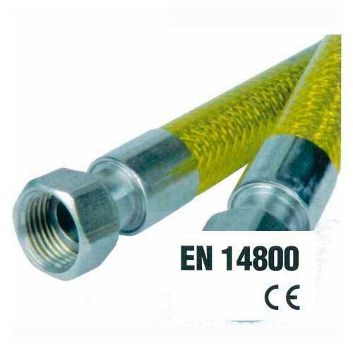Tubo flessibile omologato per gas domestici cm 150 MF 1/2