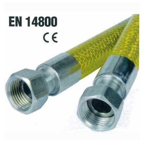 Tubo flessibile omologato per gas domestici cm 200 FF 1/2