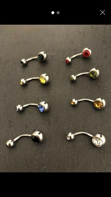 8 Pearcings nuovi di vari colori ¤5 cad. uno