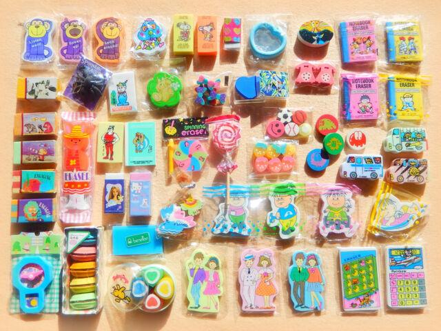 Gommine collezione Vintage anni '80 NUOVE COMPLETE & PULITE