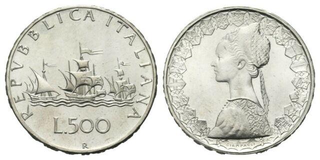 500 lire argento - Monete in argento