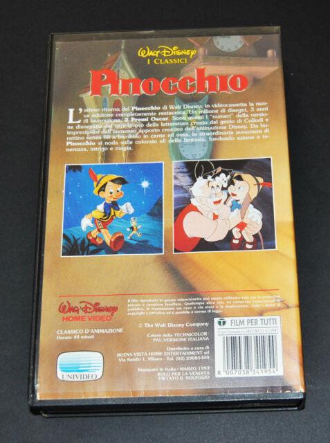 Vendo varie cassette VHS cartoni animati e films