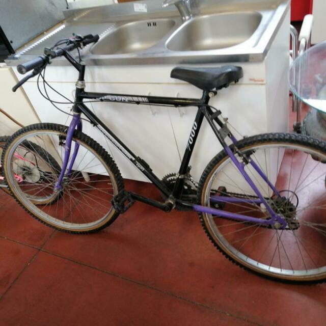 Bicicletta uomo mountain bike  top gun