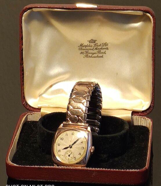 Orologio oro 9kt revisionato con scatola d'epoca.