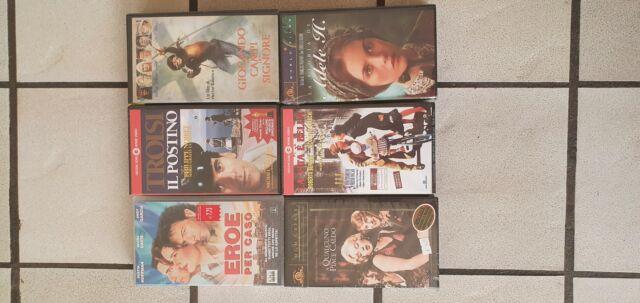 FILM VHS Nuovi Il Postino, La vita è bella, Adele H. e
