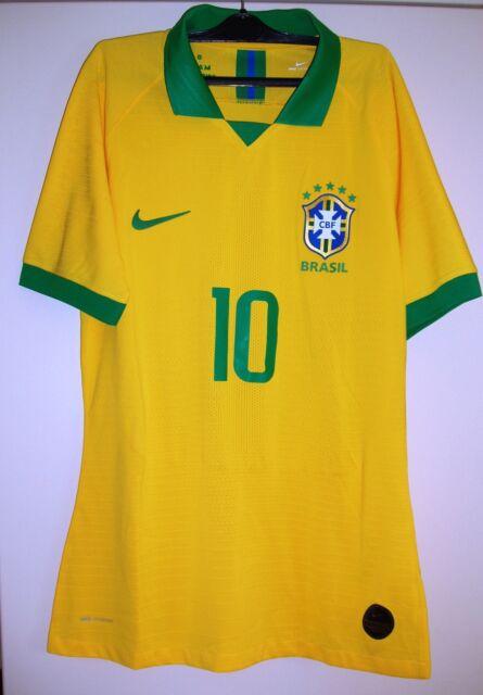 Brasile match worn neymar jr