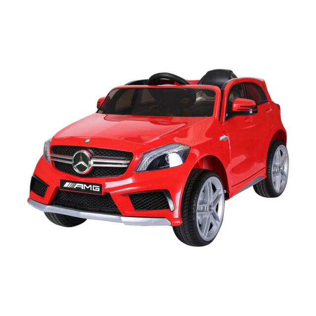 Macchina Elettrica Per Bambini 12v Mercedes A45 Amg Rossa