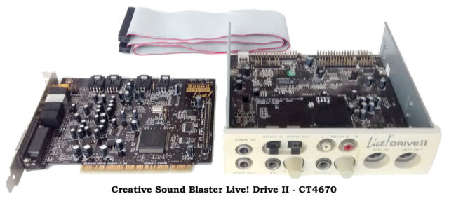 Schede Audio vintage usate per PC AT