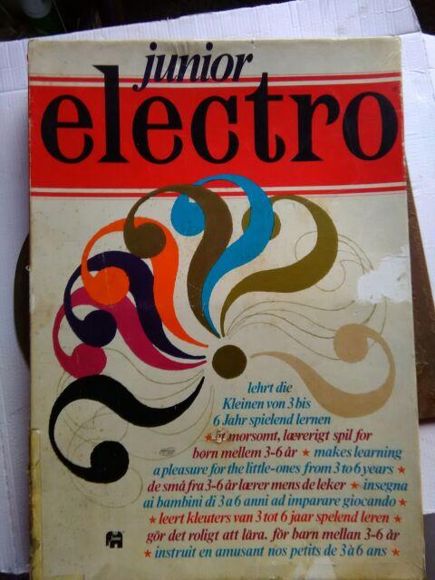 Antico giocattolo d'epoca educativo anni 70