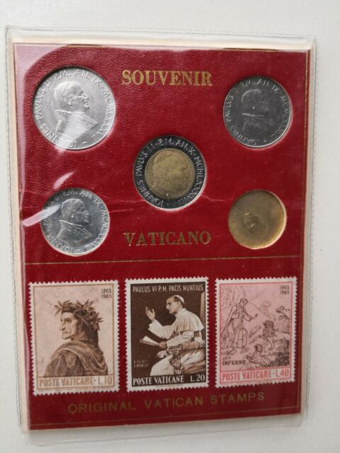 Numismatica e filatelia Città del Vaticano anni '80