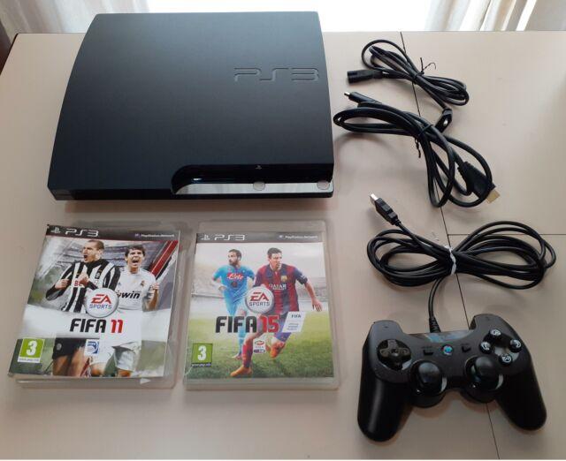 Consolle PS3 SLIM 500 GB + PAD + GIOCHI
