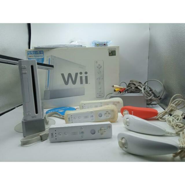 Nintendo wii bianca+ accessori