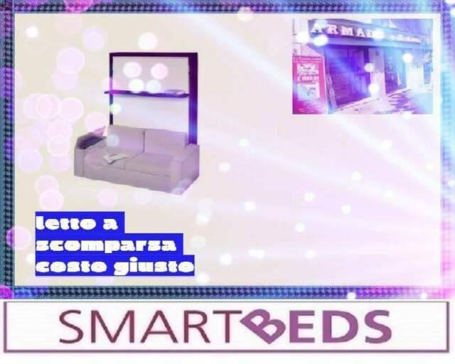 Letto 1PMezza (Bracci)Fat SmartBEDS-COSTO GIUSTO-LETTI A
