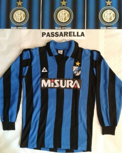 Maglie Inter Anni 80 Vintage Sponsor Misura Le Coq UhlSport