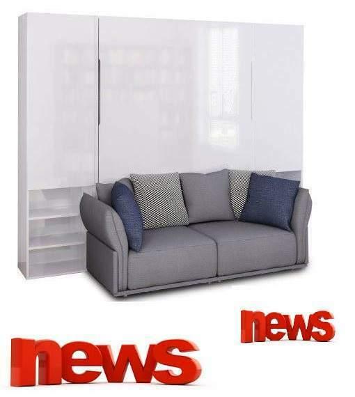 Letto a scomparsa a roma divano strass-letti