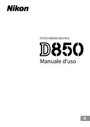 Nikon Libretto Fotocamere Digitali e Flash vari