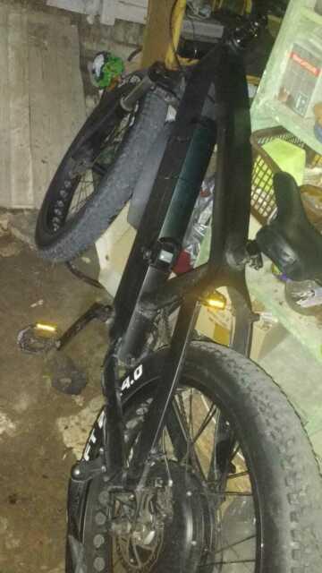 Bici elettrica Fat Bike 750 w.