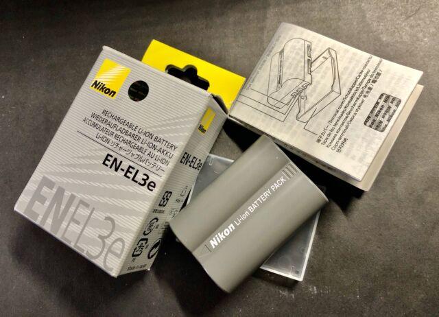 Nikon batteria EN-EL3e per fotocamere D, nuova