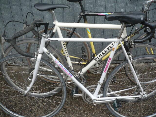 Bici corsa viner moser e pinarello acciaio