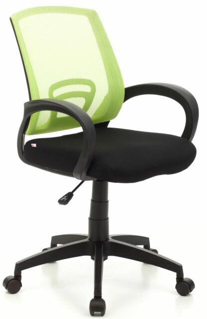 Sedia Da Ufficio Operativa In Tessuto Room Verde