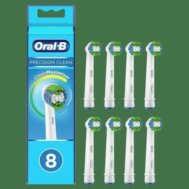 Testina pulita di precisione Oral-B con CleanMaximiser, 8