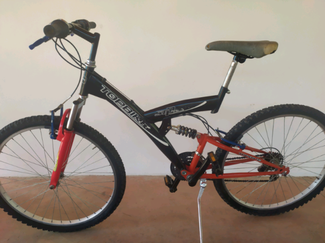 Bicicletta Biammortizzata Mountain bike