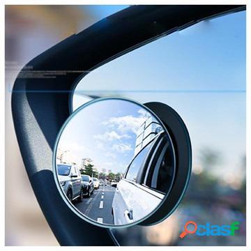 Floveme Wide Angle Round Blind Spot Mirror