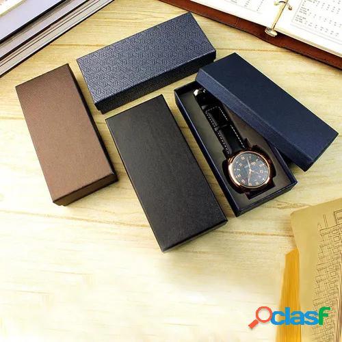 Gift Watch Box Packaging Long Design Durable Fashion Storage