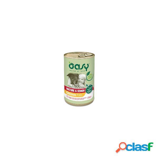 Oasy cibo umido per cani Oasy Mature e Senior 400 gr
